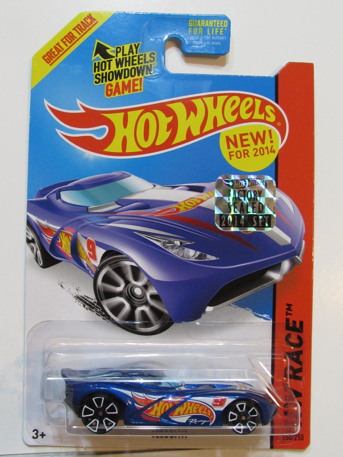 HOT WHEELS 2014 HW RACE VELOCITA FACTORY SEALED