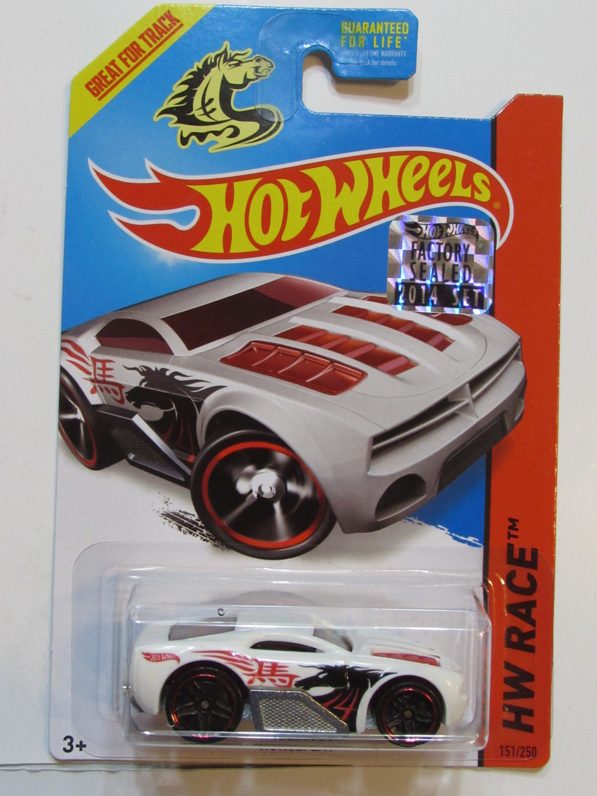 HOT WHEELS 2014 HW RACE HORSEPLAY FACTORY SEALED