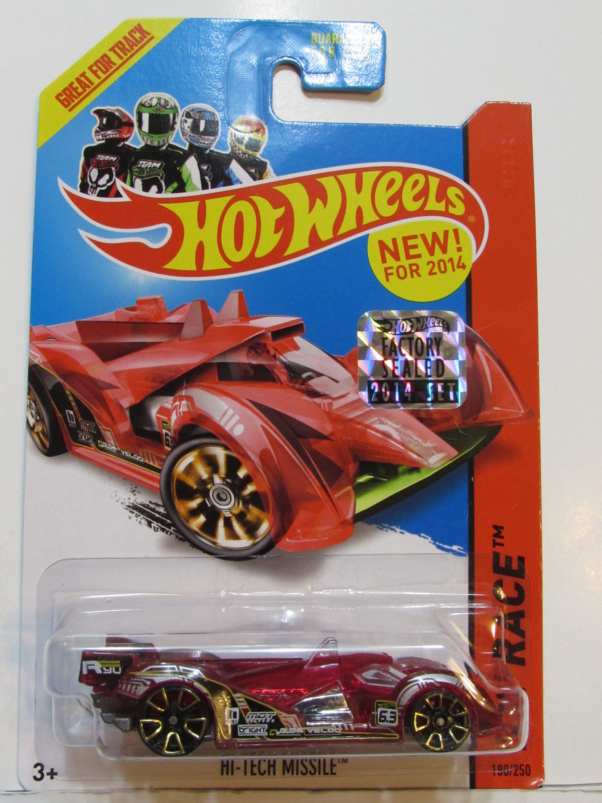 HOT WHEELS 2014 HW RACE - X-RAYCERS HI-TECH MISSILE FACTORY SEALED