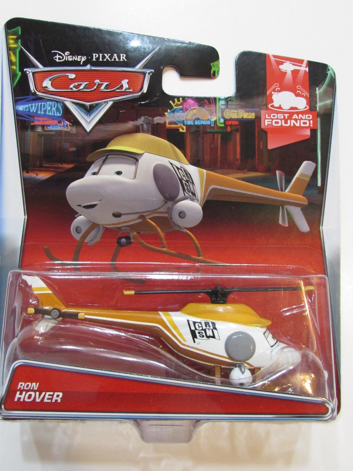 DISNEY PIXAR CARS LOST AND FOUND RON HOVER