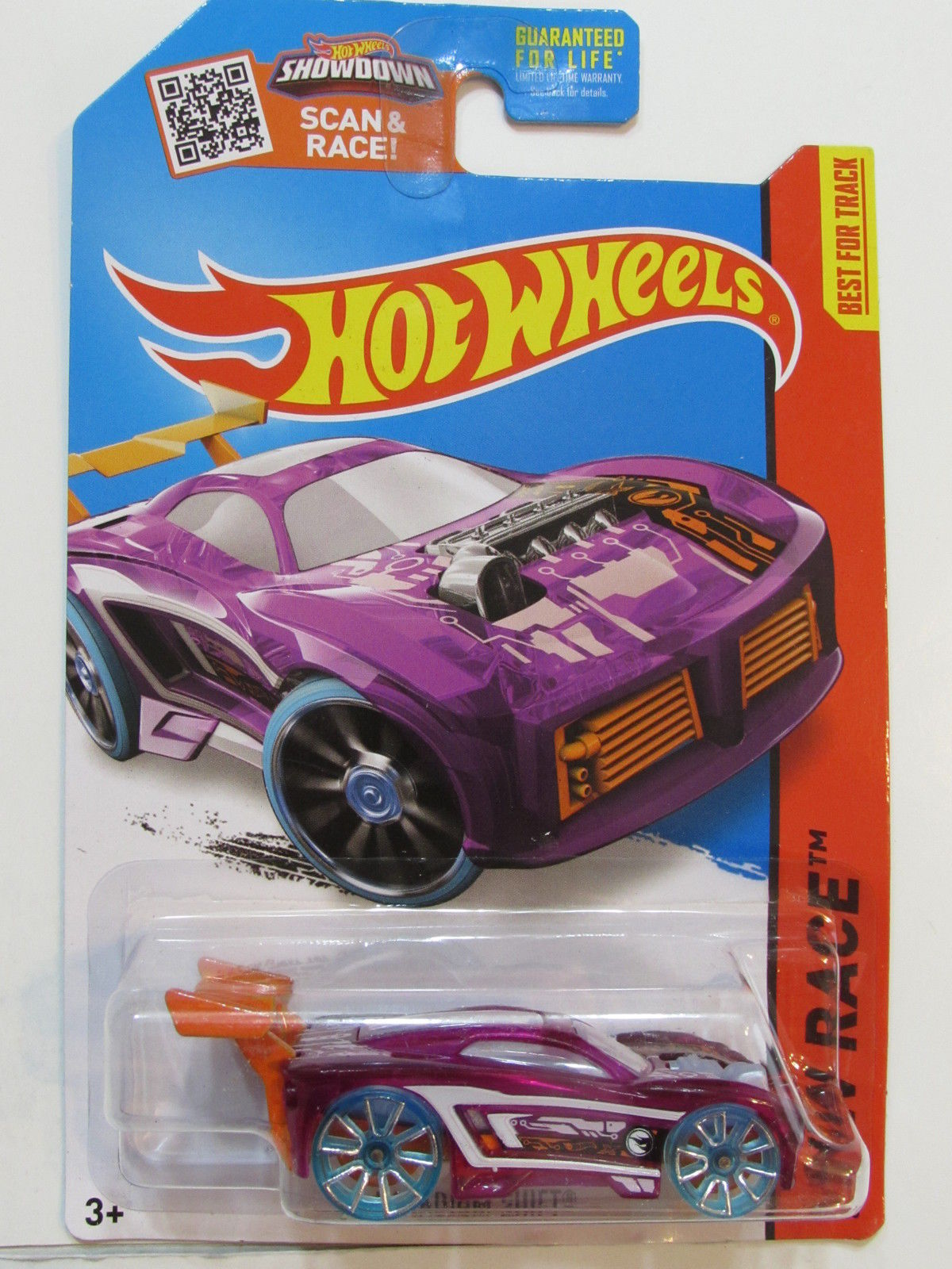 HOT WHEELS 2015 HW RACE X- RAYCERS PARADIGM SHIFT - TREASURE HUNT