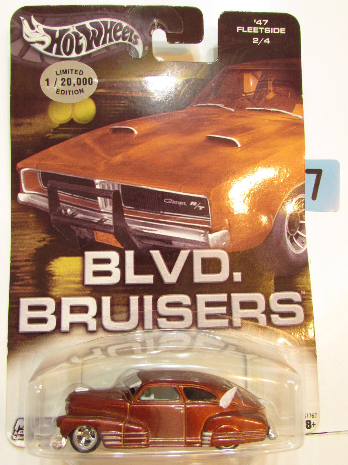 HOT WHEELS BLVD. BRUISERS '47 FLEETSIDE 2/4