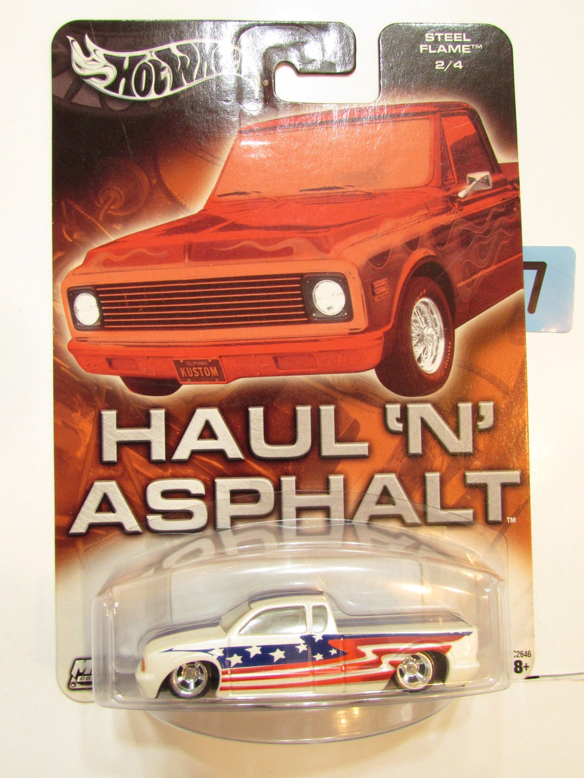HOT WHEELS HAUL 'N' ASPHALT STEEL FLAME 2/4