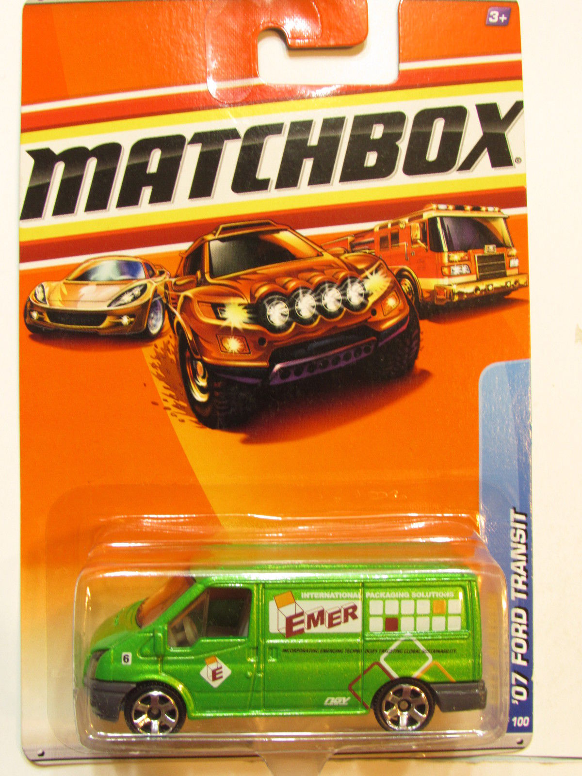 MATCHBOX 2010 CITY ACTION - '07 FORD TRANSIT