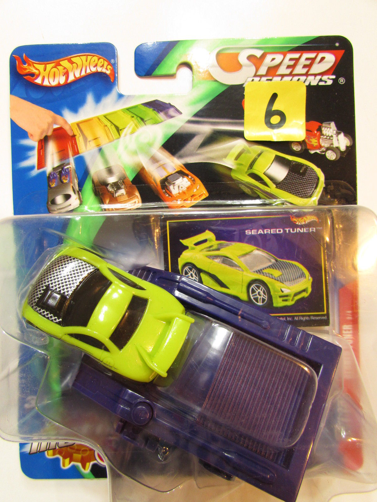 HOT WHEELS SPEED DEMONS - SEARED TUNER GREEN