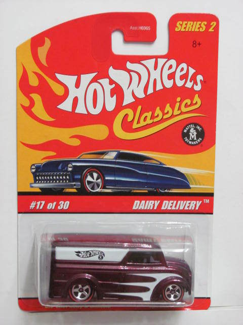HOT WHEELS CLASSICS SERIES 2 #17/30 DAIRY DELIVERY PURPLE