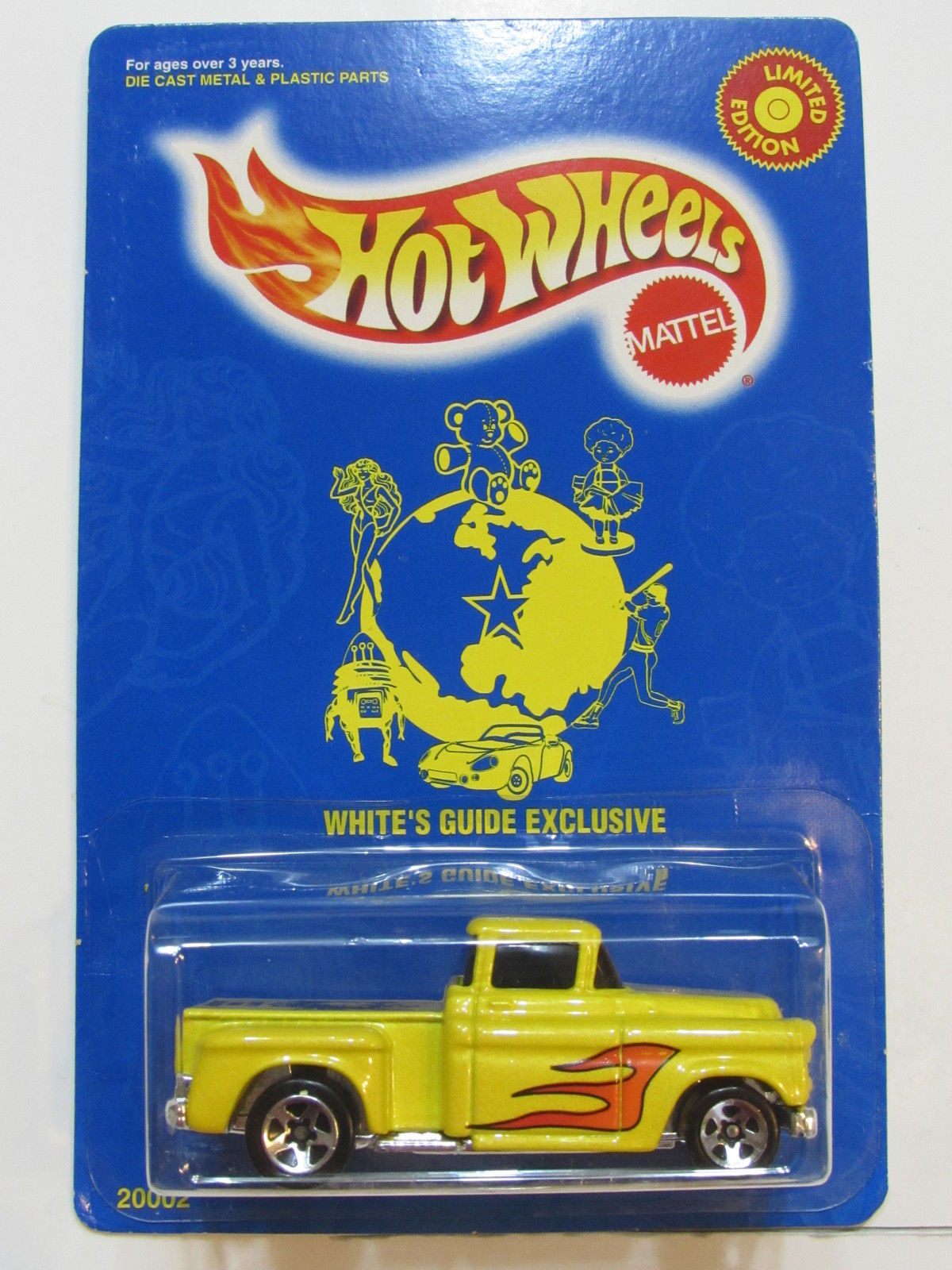 HOT WHEELS 1997 WHITE'S GUIDE EXCLUSIVE '55 CHEVY E+