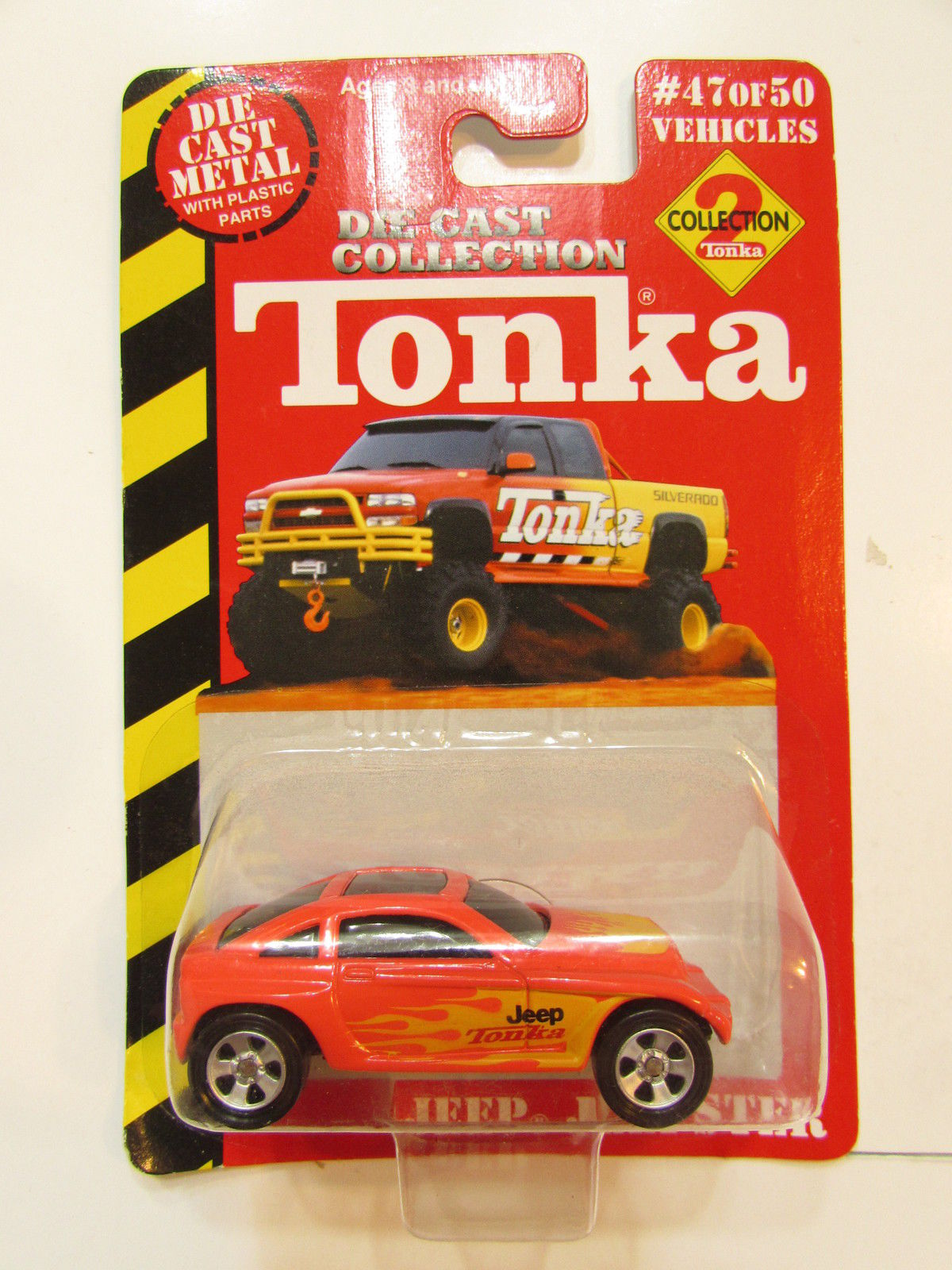 MAISTO TONKA #47 OF 50 DIE CAST COLLECTION JEEP JEEPSTER