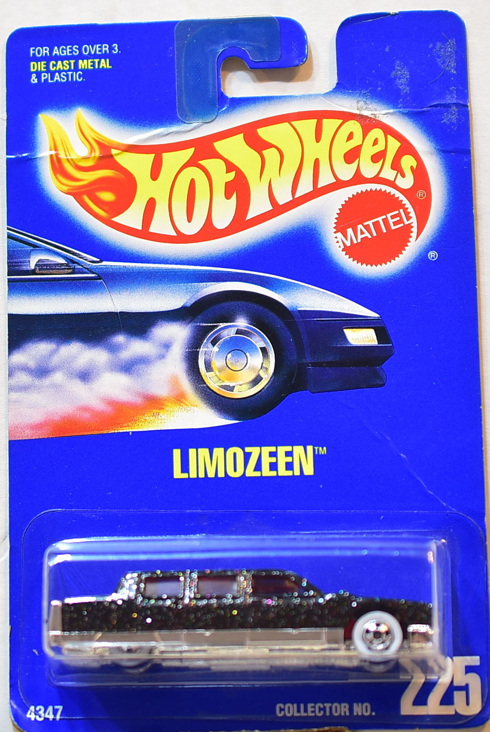 HOT WHEELS 1991-1992 NEW PAINT STYLE LIMOZEEN #225