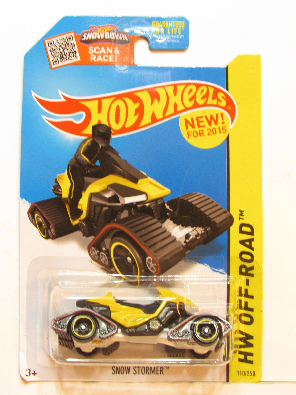 HOT WHEELS 2015 HW OFF ROAD - ICE MOUNTAIN - SNOW STORMER