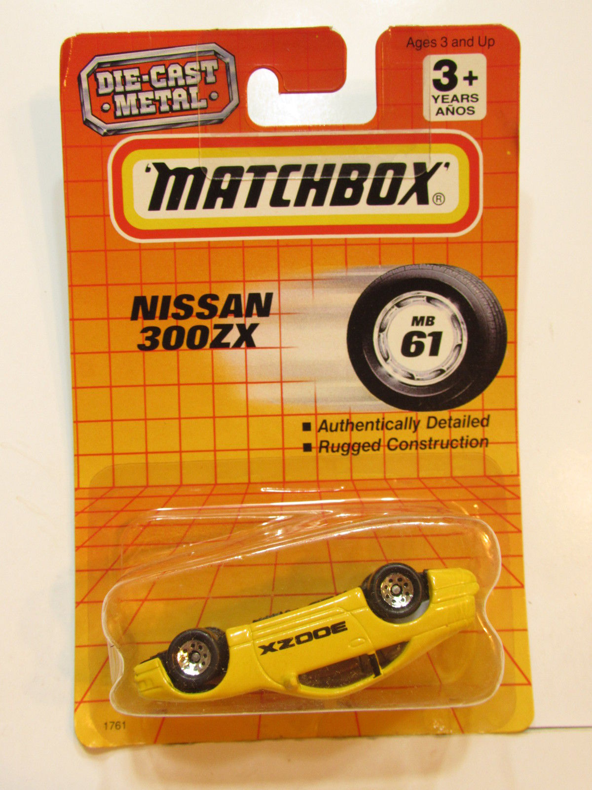 MATCHBOX 1990 NISSAN 300ZX YELLOW
