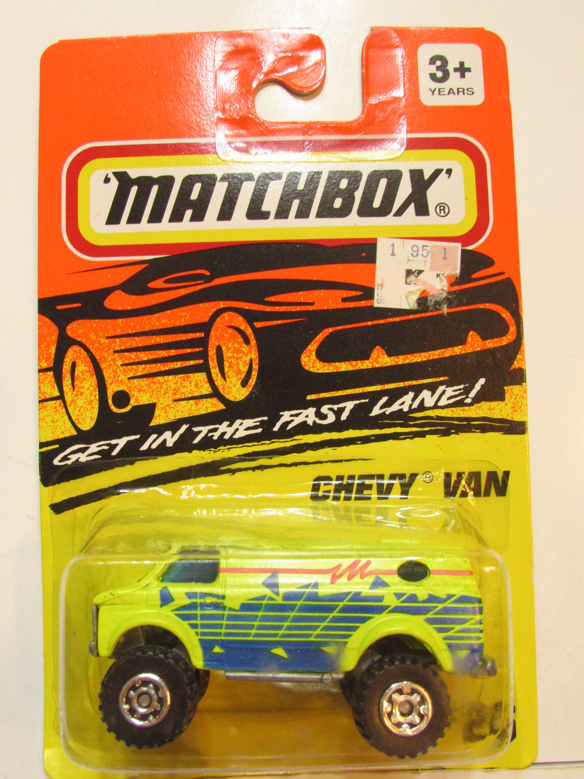 MATCHBOX 1994 #26 GET IN THE FAST LANE - CHEVY VAN