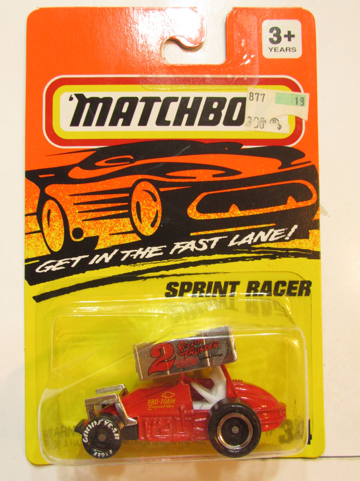 MATCHBOX 1993 #34 SPRINT RACER