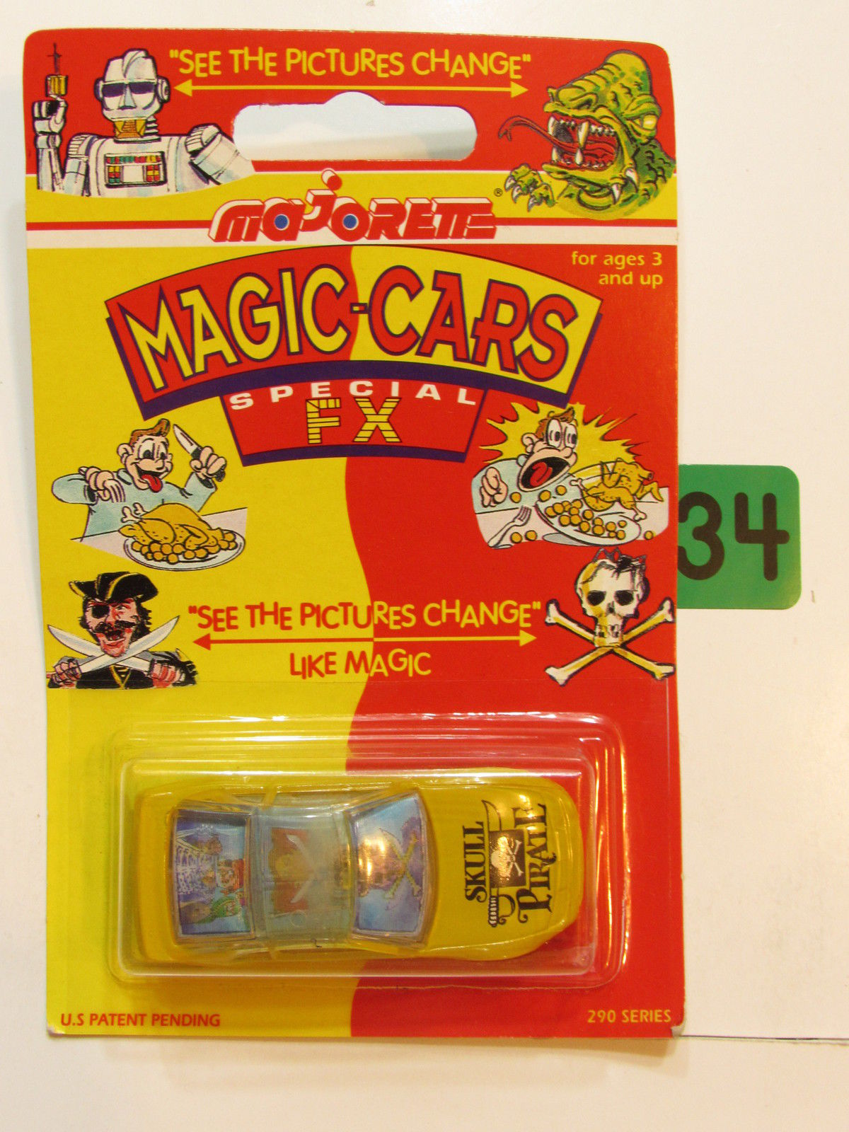 MAJORETTE MAGIC CARS SPECIAL FX SKULL PIRATE - NISSAN 300 ZX