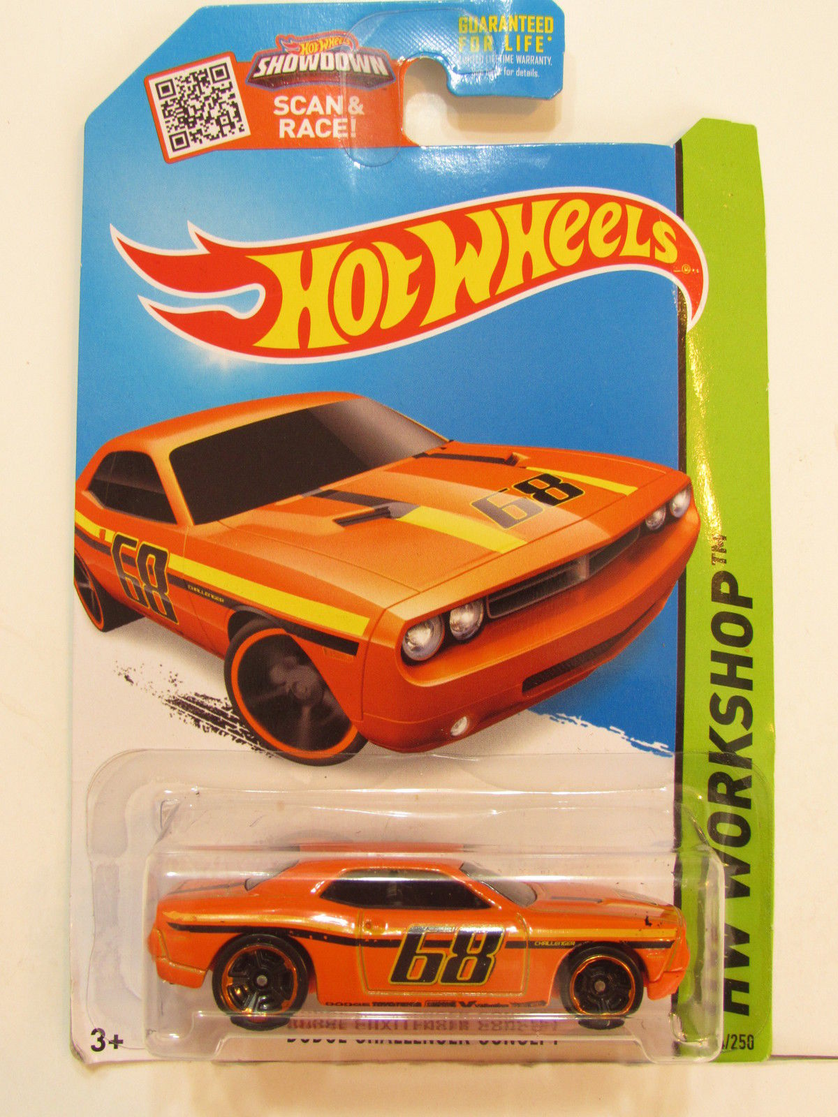 HOT WHEELS 2015 HW WORKSHOP - MUSCLE MANIA - DODGE CHALLENGER CONCEPT E+
