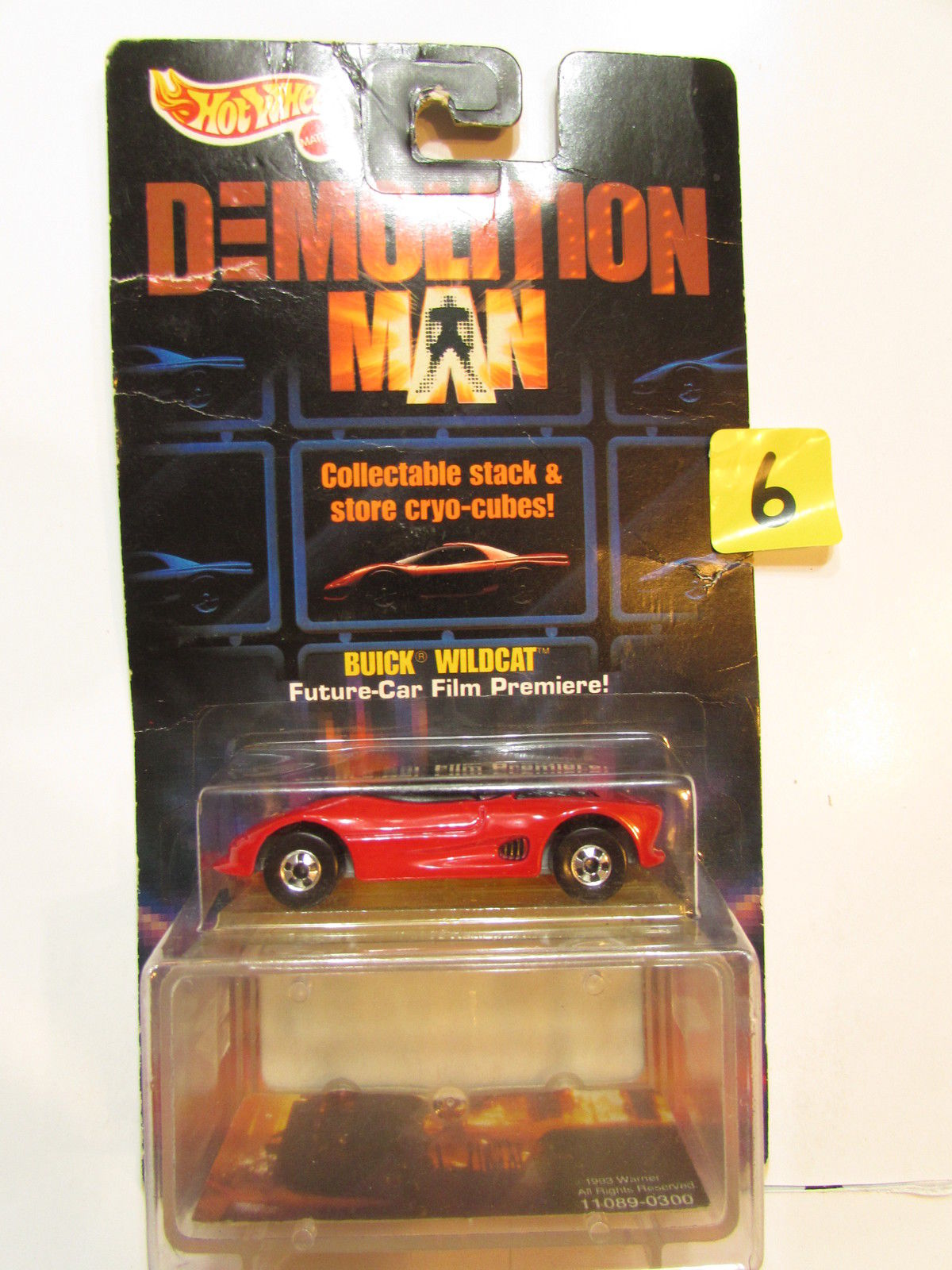 HOT WHEELS DEMOLITION MAN BUICK WILDCAT E+