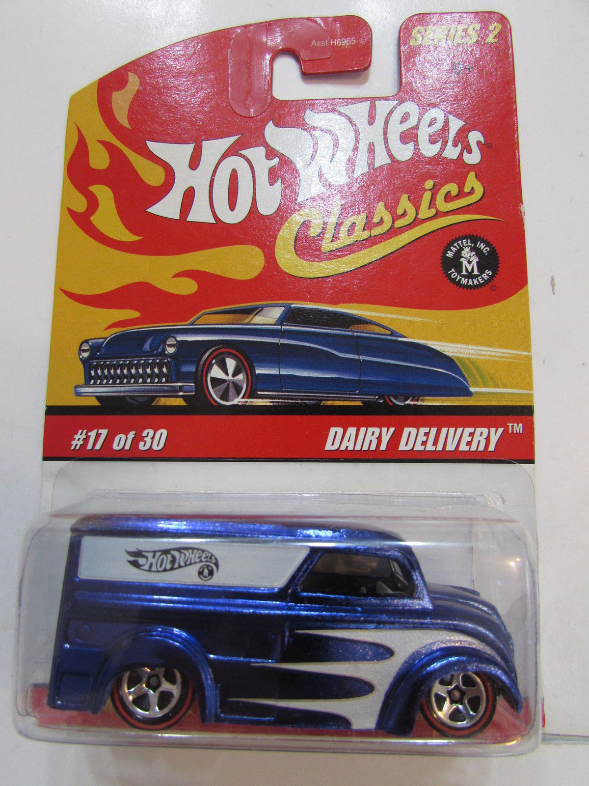 HOT WHEELS CLASSICS SERIES 2 #17/30 DAIRY DELIVERY BLUE