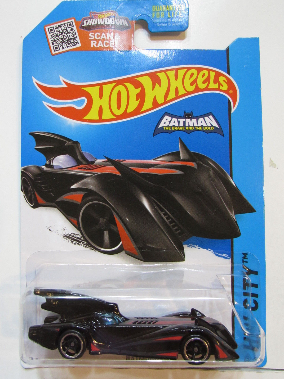 HOT WHEELS 2015 HW CITY - BATMAN BATMOBILE BLACK