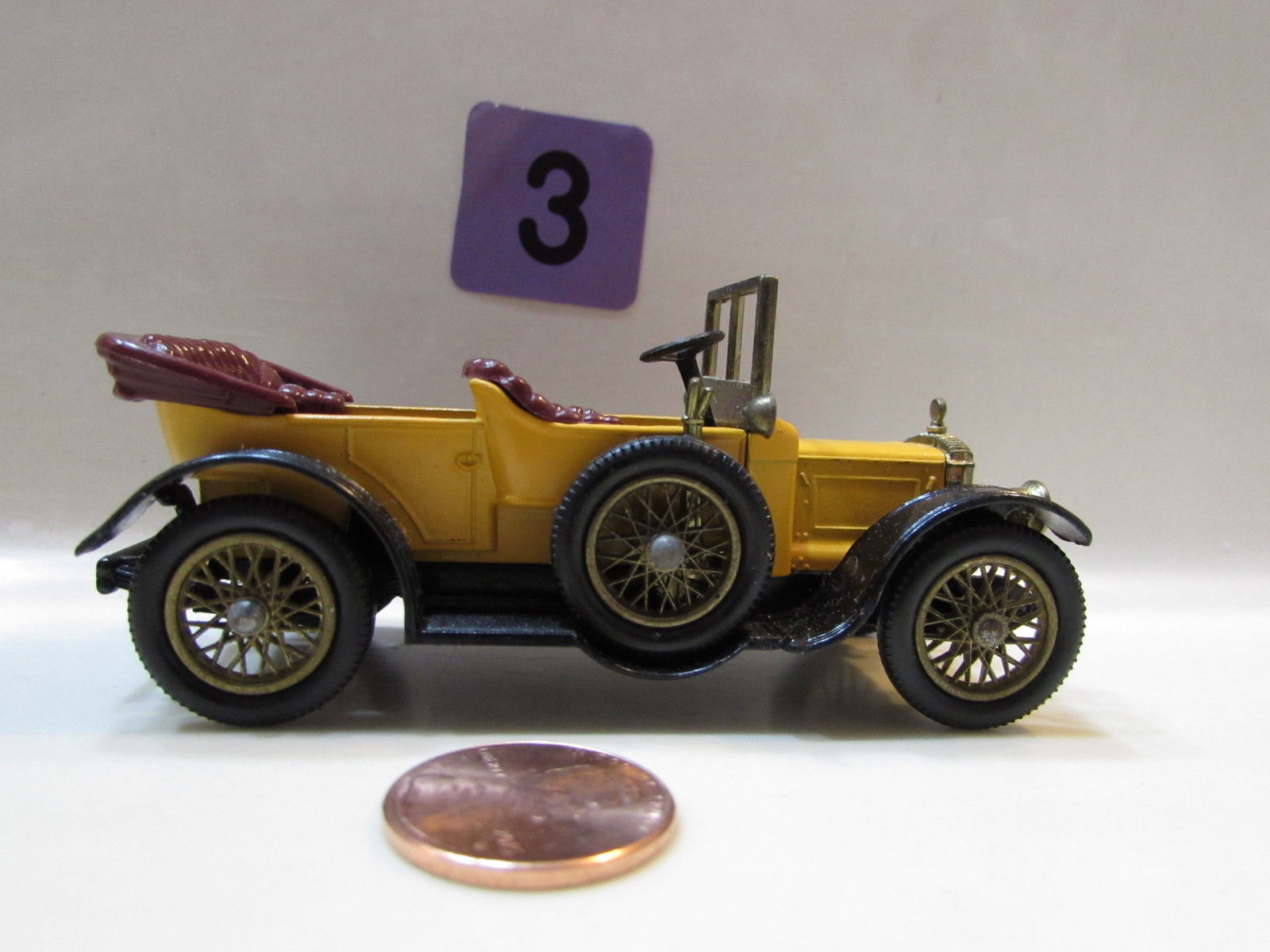 MATCHBOX MODELS OF YESTERYEAR Y- 13 1911 DAIMLER - LOOSE