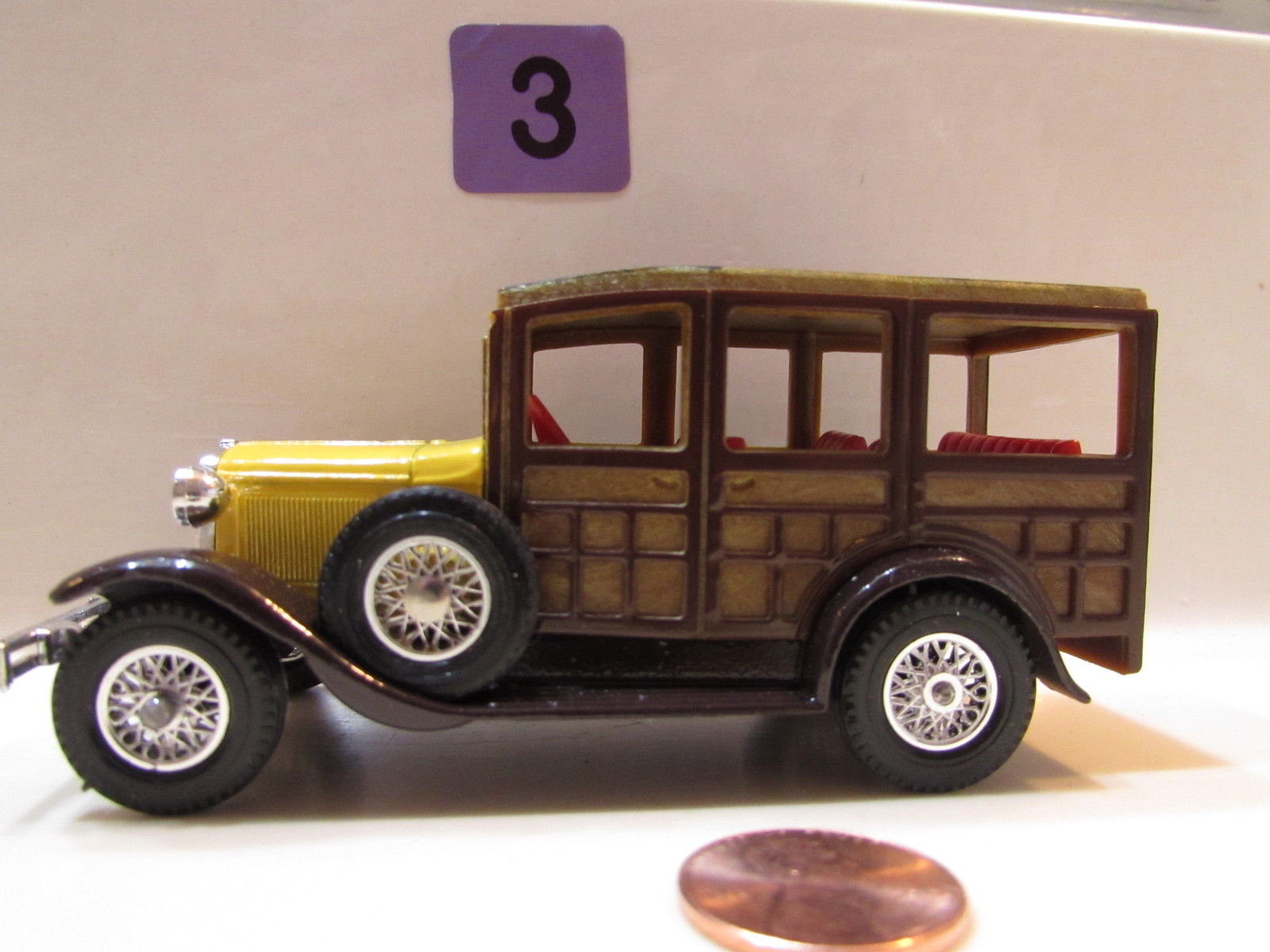 MATCHBOX MODELS OF YESTERYEAR Y- 21 1927 FORD A - LESNEY 1981 LOOSE