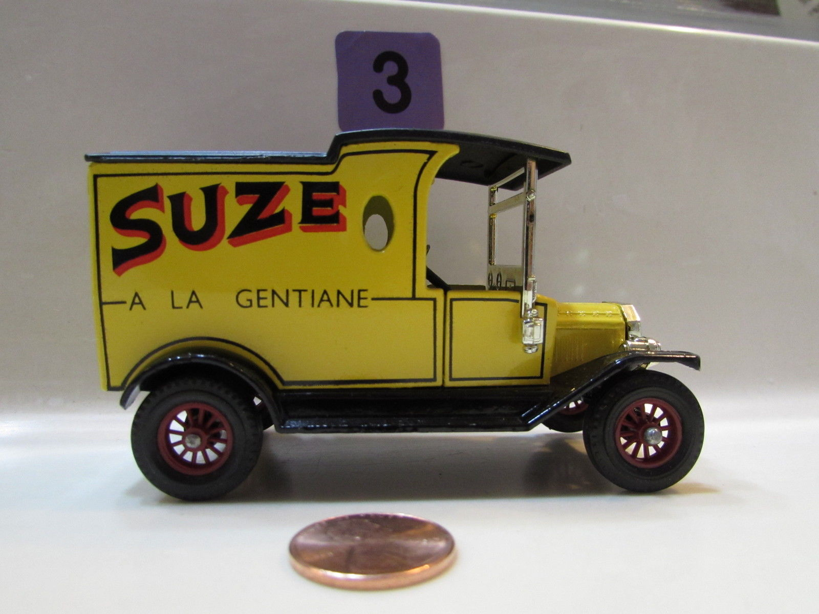 MATCHBOX MODELS OF YESTERYEAR Y- 12 1912 FORD MODEL T - LESNEY 1978 LOOSE
