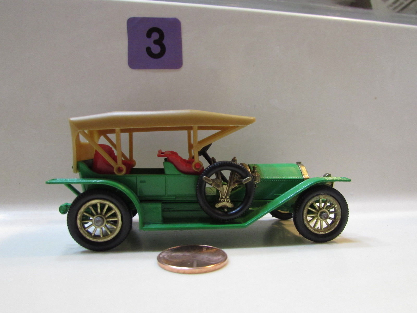 MATCHBOX MODELS OF YESTERYEAR Y- 09 1912 SIMPLEX - LOOSE