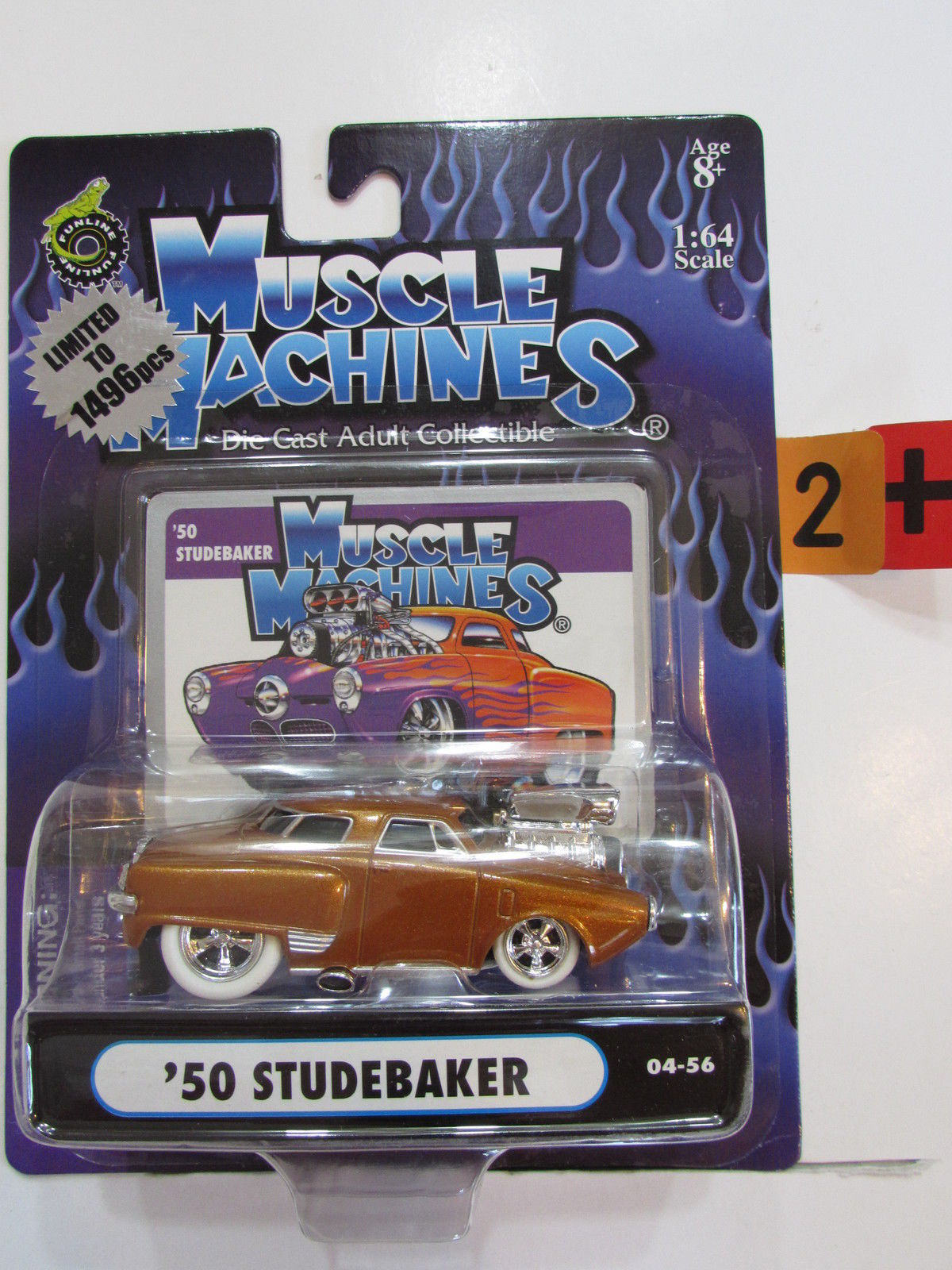 MUSCLE MACHINES '50 STUDEBAKER CHASE SCALE 1:64