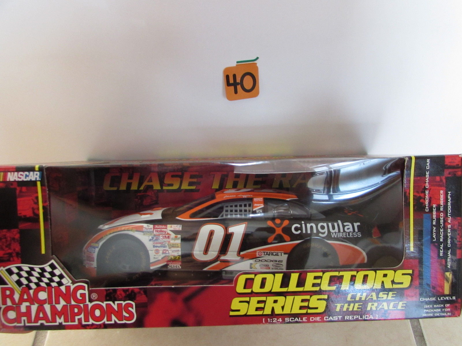 RACING CHAMPIONS NASCAR CHASE THE RACE JASON LEFFER RARE #01 SCALE1:24