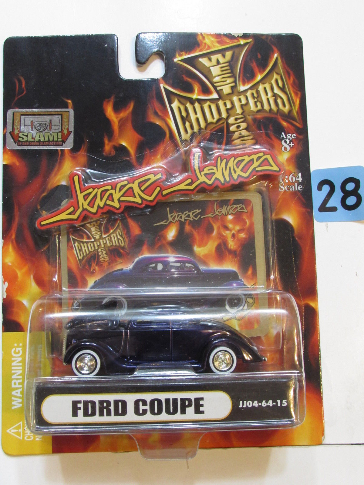 WEST COAST CHOPPERS JESSE JAMES - FORD COUPE