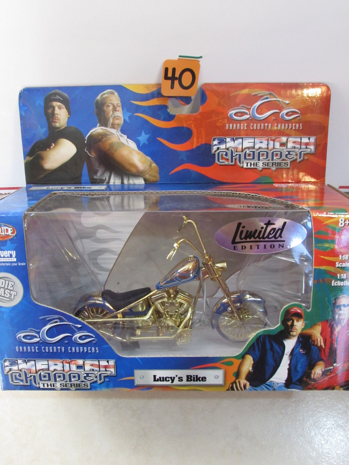 AMERICAN CHOPPER THE SERIES - LUCY'S BIKE SCALE 1:18