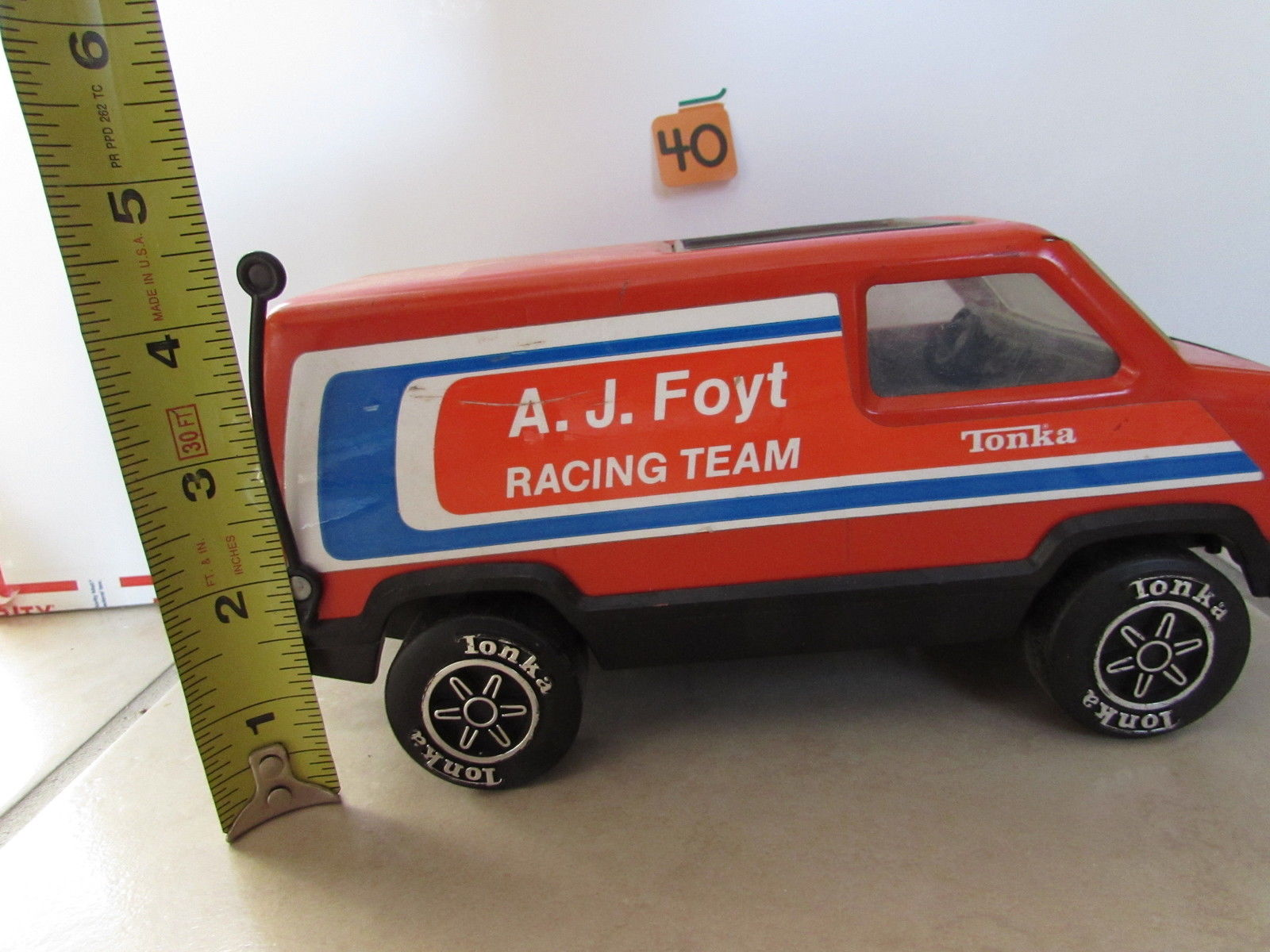 A.J FOYT RACING TEAM TONKA - LOOSE