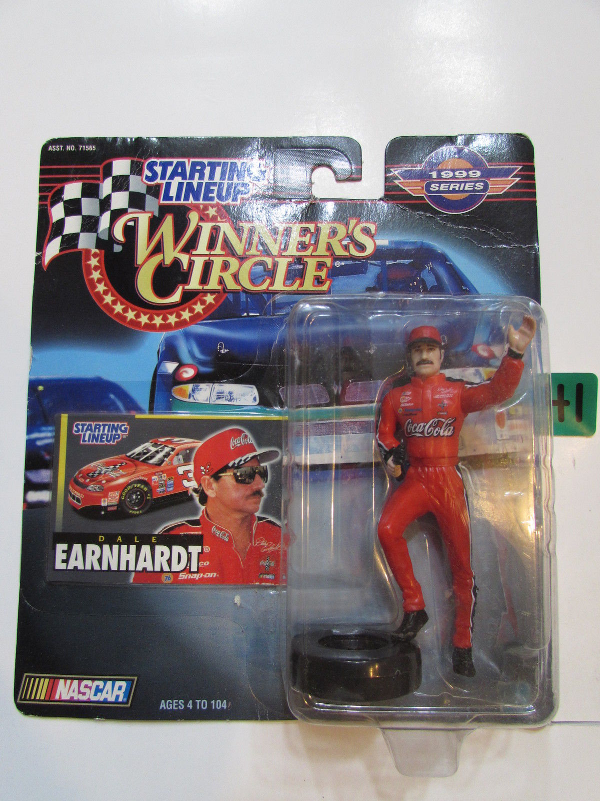 NASCAR WINNER'S CIRCLE 1999 SERIES STARTING LINE UP DALE EARNHARDT FIGURE