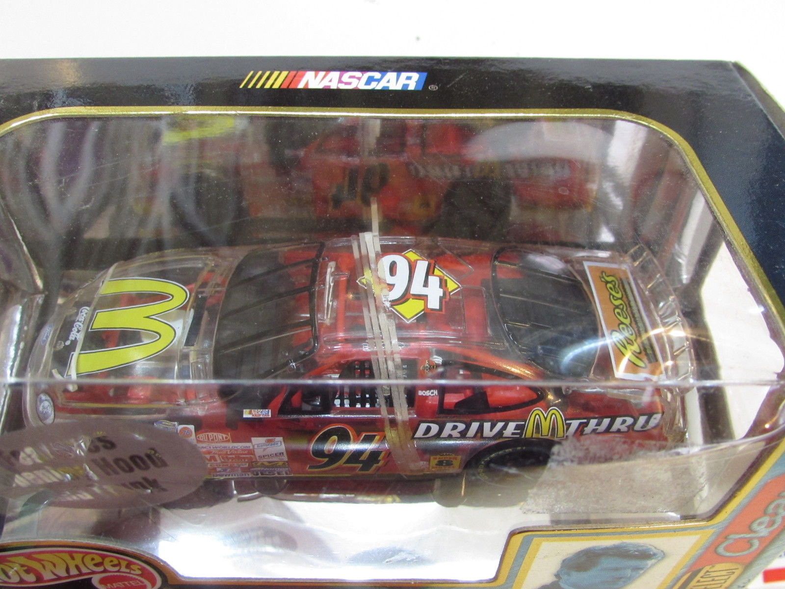 HOT WHEELS NASCAR RACING SELECT CLEAR EDITION - BILL ELLIOT #94 SCALE 1:43