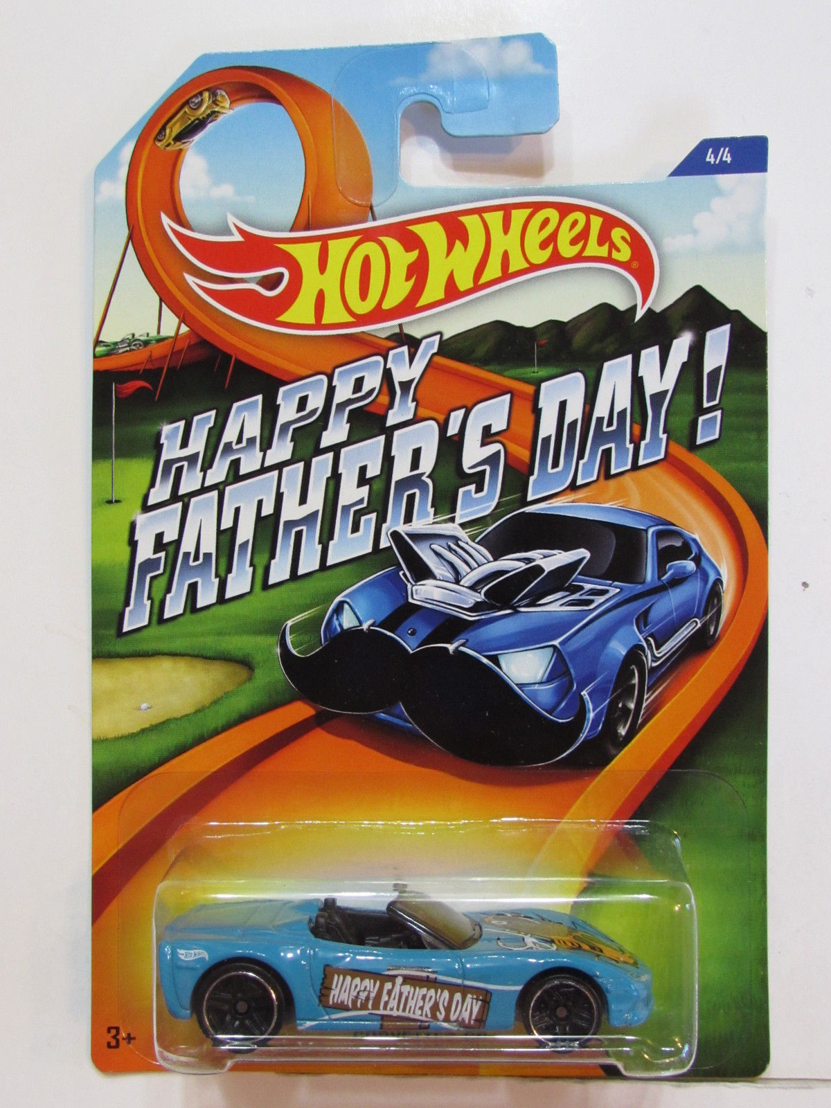 HOT WHEELS 2015 HAPPY FATHERS DAY - CORVETTE C6