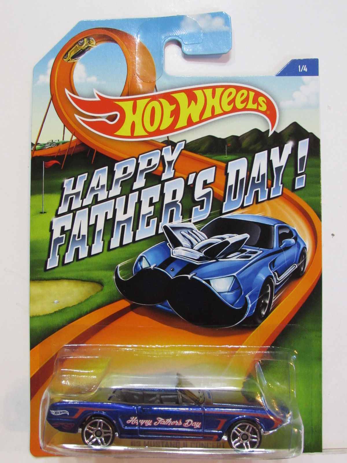 HOT WHEELS 2015 HAPPY FATHERS DAY - 63 MUSTANG II CONCEPT