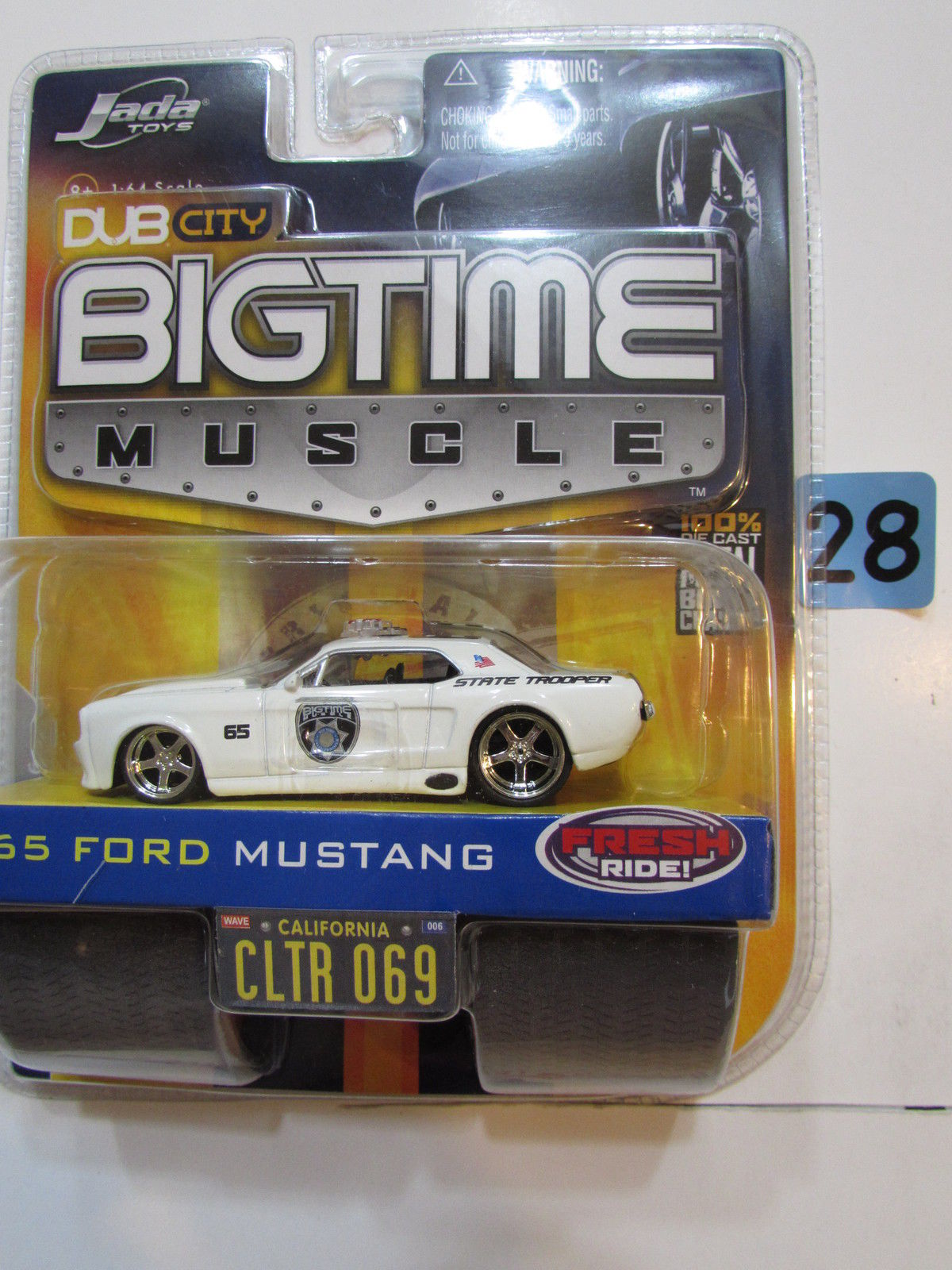 JADA DUB CITY BIG TIME MUSCLE - '65 FORD MUSTANG CLTR 069