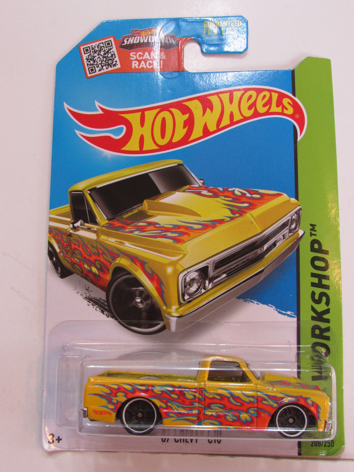HOT WHEELS 2015 HW WORKSHOP - HEAT FLEET - '67 CHEVY C10