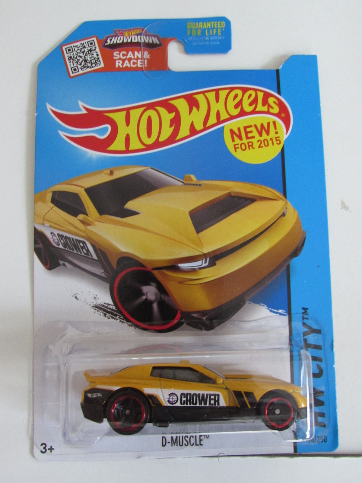 HOT WHEELS 2015 HW CITY - HW PERFORMANCE - D- MUSCLE