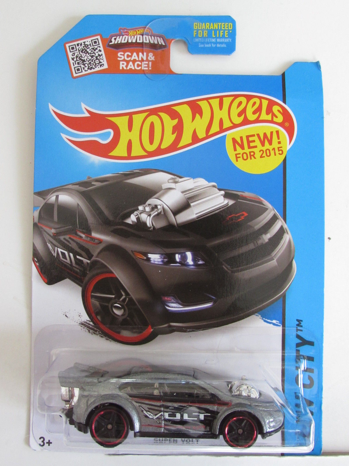 HOT WHEELS 2015 HW CITY - STREET POWER - SUPER VOLT