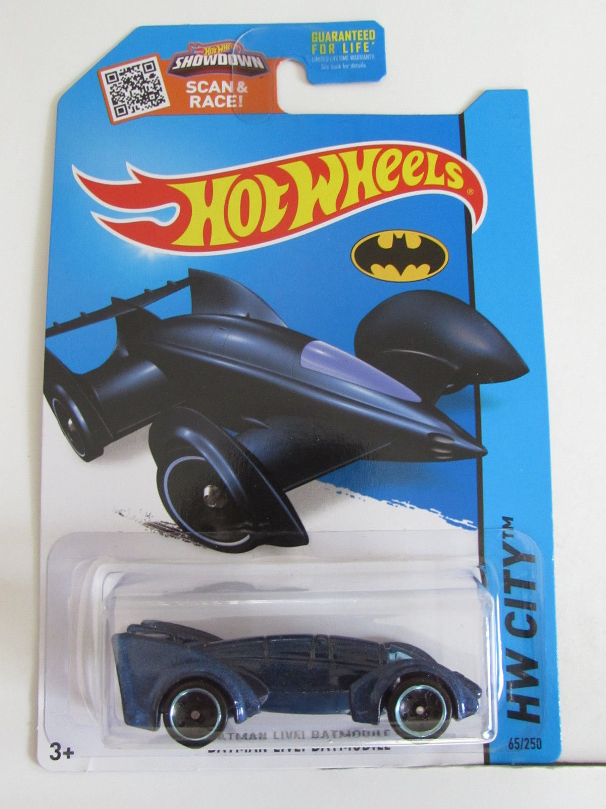 HOT WHEELS 2015 HW CITY - BATMAN LIVE ! BATMOBILE