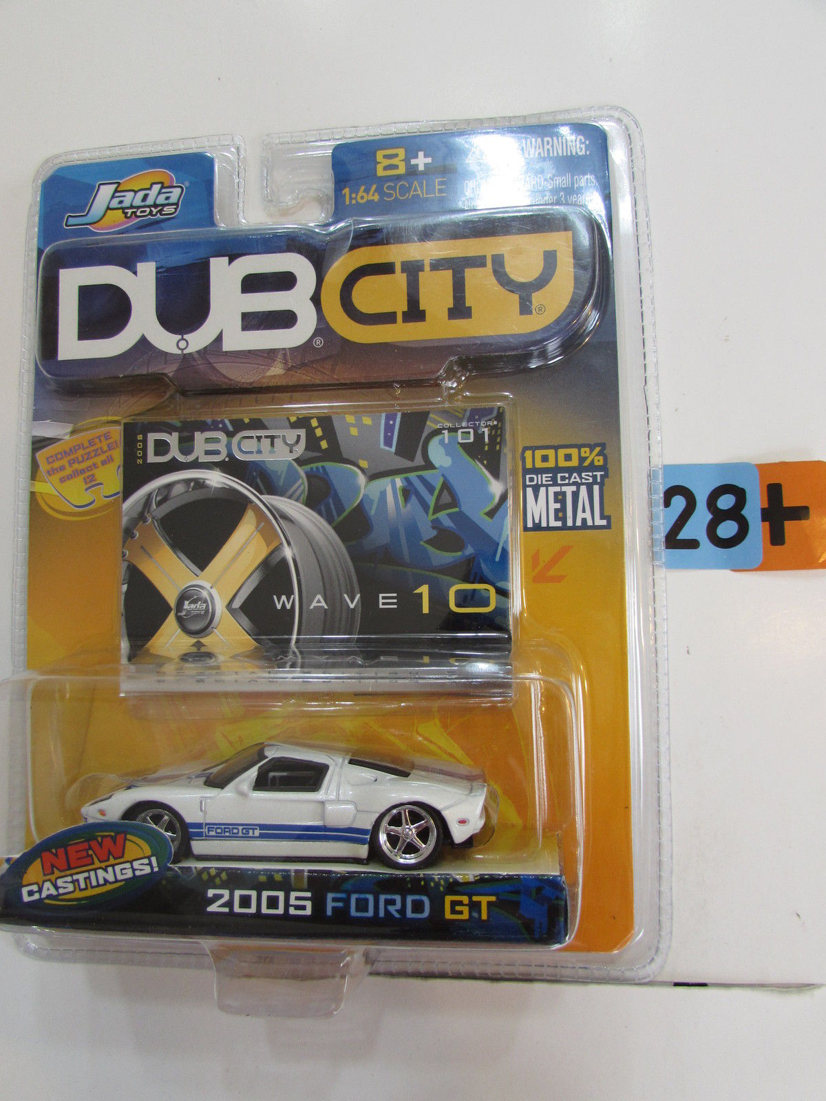 JADA TOYS DUB CITY 2005 FORD GT WAVE 10 CLTR 101