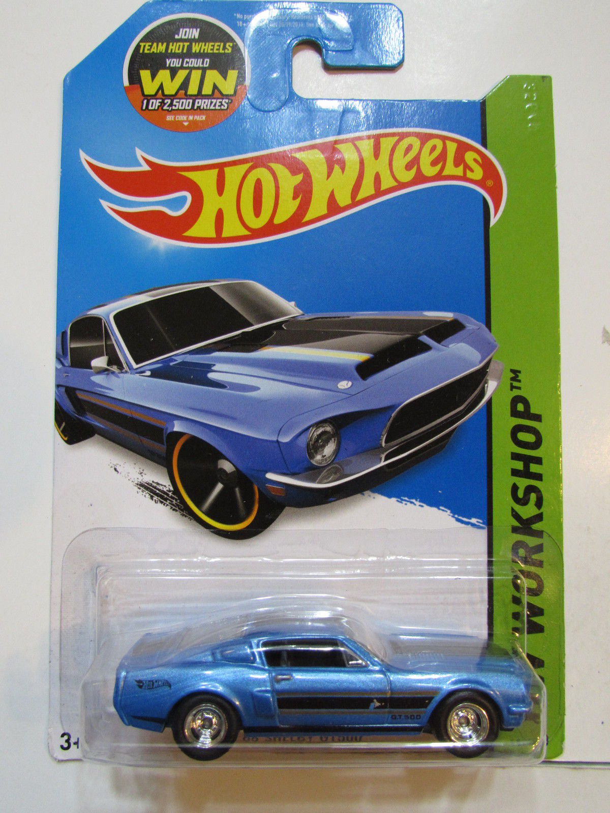 HOT WHEELS 2015 HW SHOWROOM - '68 SHELBY GT500 - CUSTOM