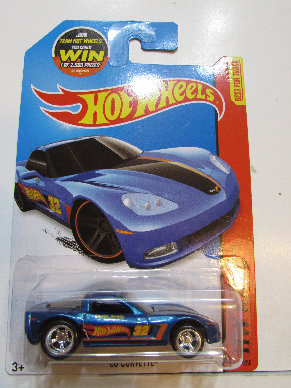 HOT WHEELS 2015 HW RACE - C6 CORVETTE - CUSTOM