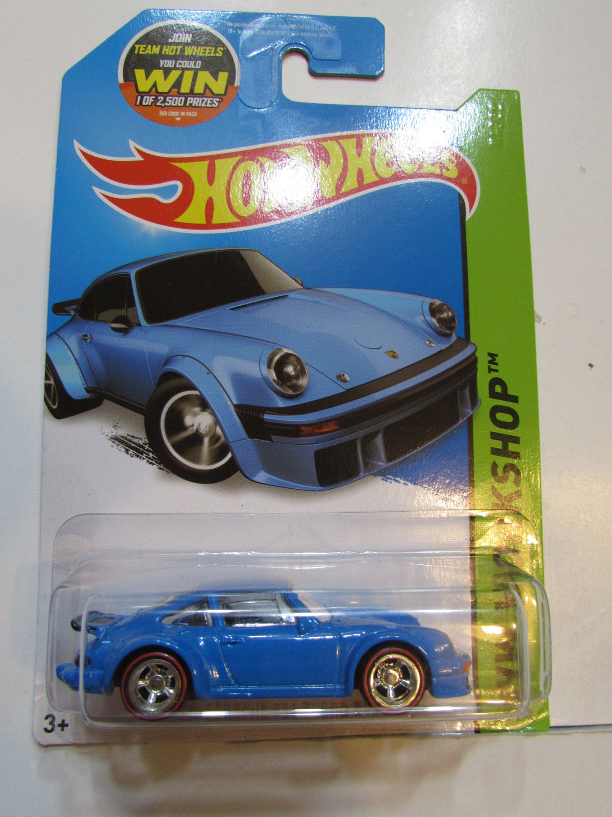 HOT WHEELS 2015 HW WORKSHOP - PORSCHE 934 TURBO RSR - CUSTOM