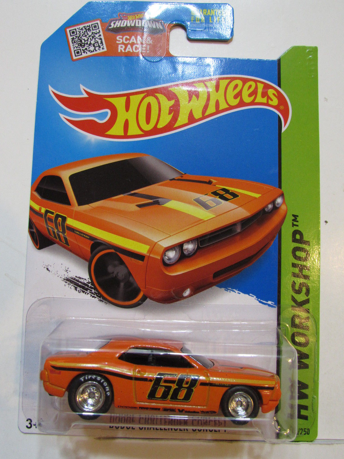 HOT WHEELS 2015 HW WORKSHOP - DODGE CHALLENGER CONCEPT - CUSTOM