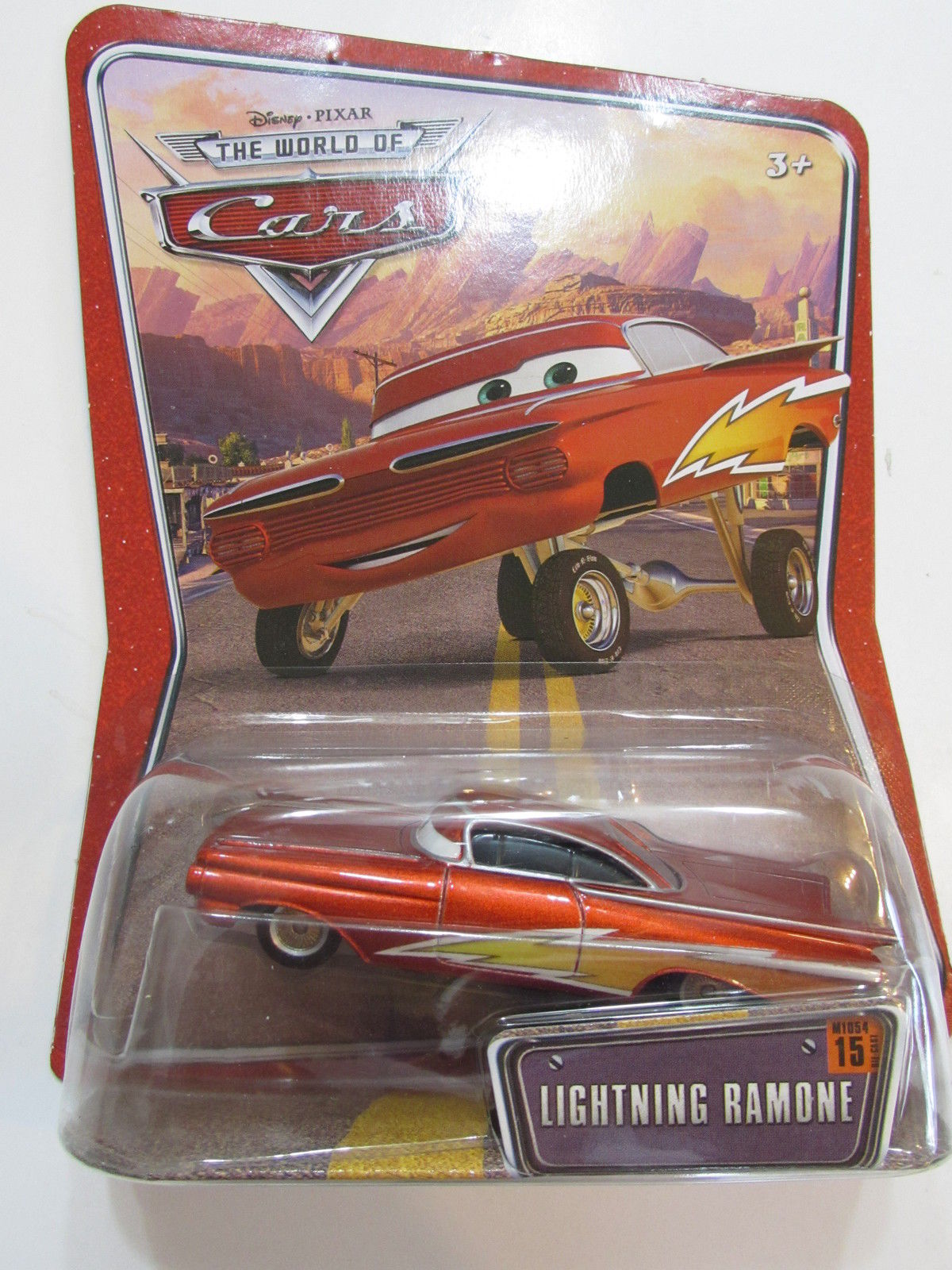 DISNEY PIXAR CARS LIGHTNING RAMONE #15 - DESERT CARD