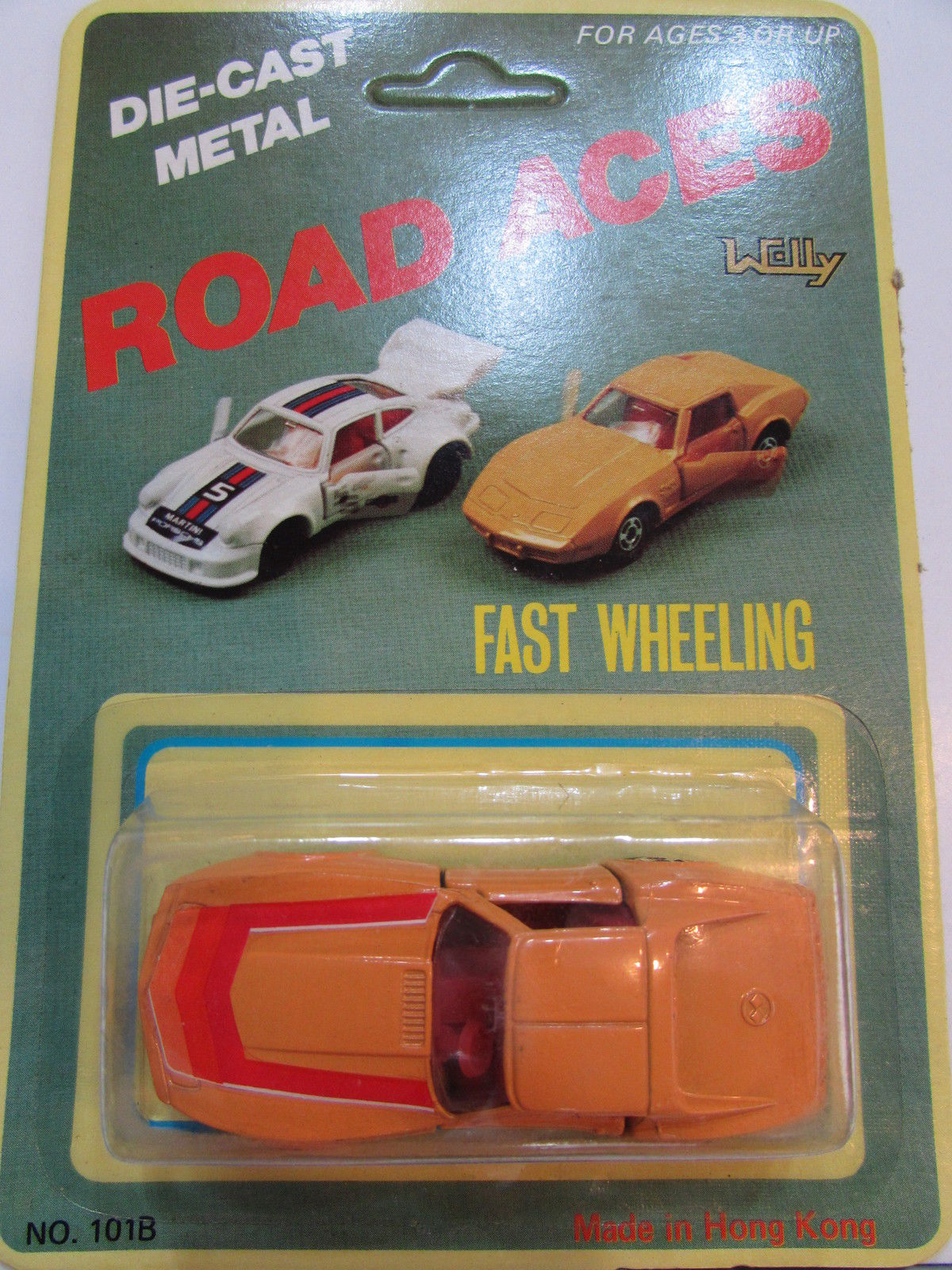 ROAD ACES FAST WHEELING - CORVETTE MADE IN HONG KONG