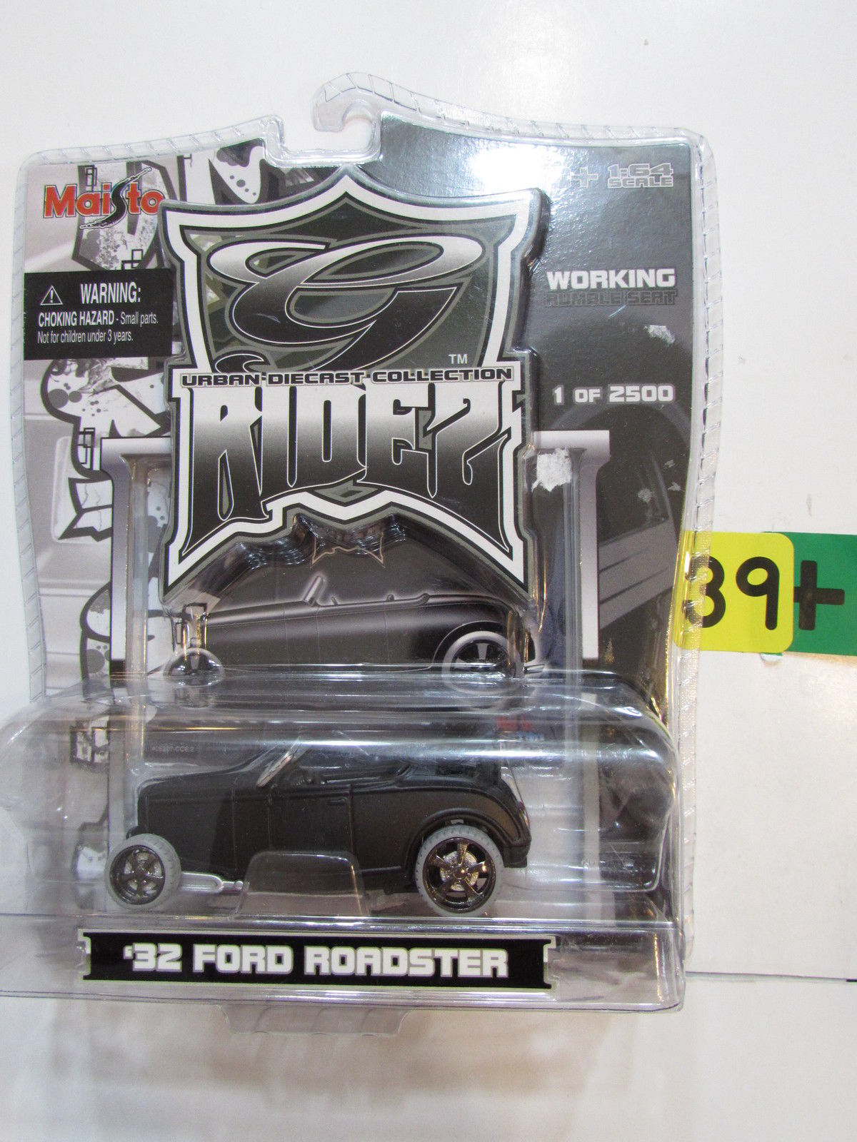 MAISTO G RIDEZ 2006 - '32 FORD ROADSTER BLACK