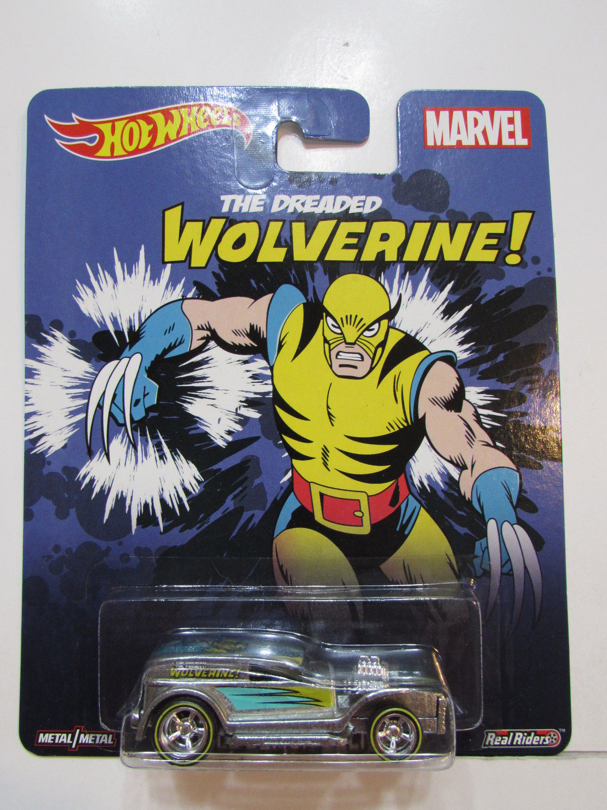 HOT WHEELS MARVEL THE DREADED WOLVERINE - DOUBLE DEMON DELIVERY