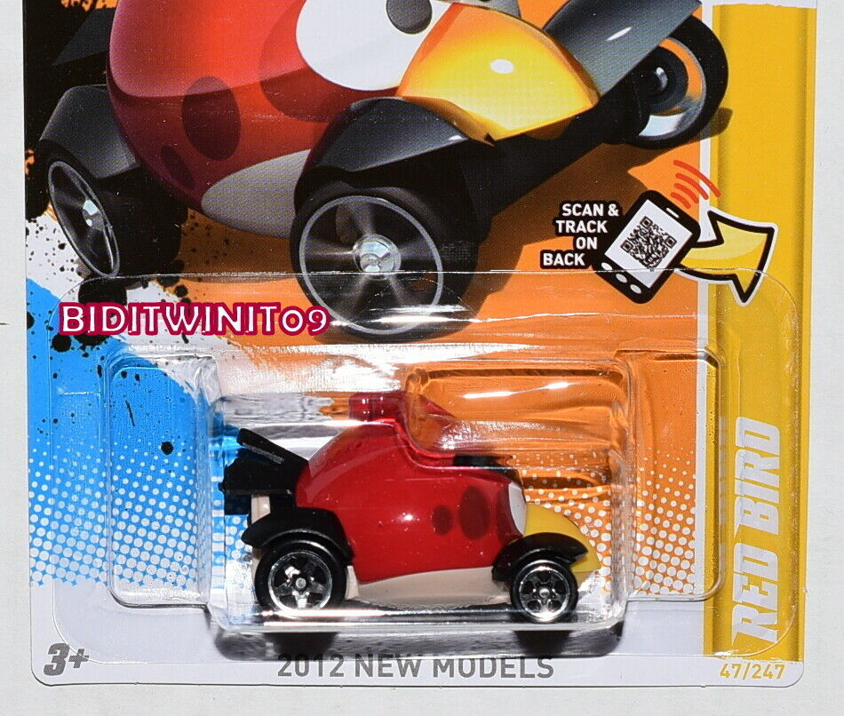 HOT WHEELS 2012 NEW MODELS RED BIRD FACTORY SEALED